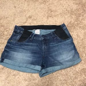 Liz Lange Maternity Denim Shorts